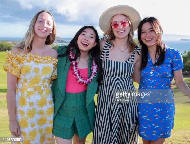 Anna Konkle Awkwafina Olivia Wilde and Maya Erskine attend the 2019 Maui Film Festival's Taste of Wailea on June 15 2019 in Wailea Hawaii