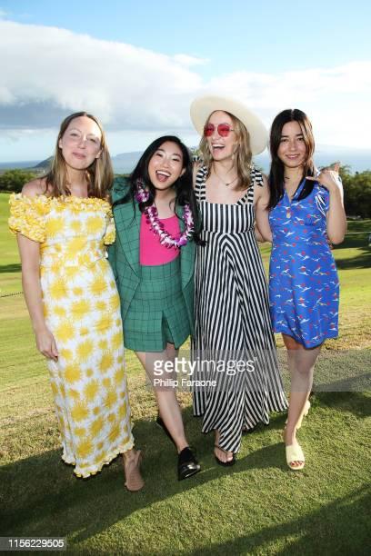 Anna Konkle Awkwafina Olivia Wilde and Maya Erskine attend the Taste of Wailea during the 2019 Maui Film Festival on June 15 2019 in Wailea Hawaii