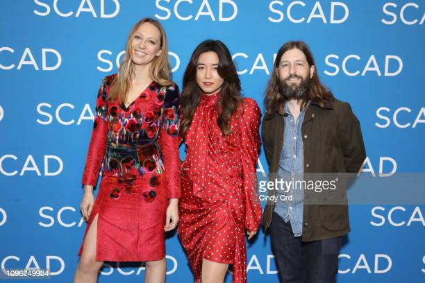Anna Konkle Maya Erskine and Sam Zvibleman attend the Pen15 screening during SCAD aTVfest 2019 at SCADshow on February 8 2019 in Atlanta Georgia