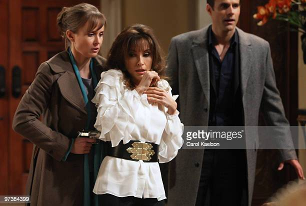 CHILDREN Anna Koonin Susan Lucci and Cameron Mathison in a scene that airs the week of March 1 2010 on ABC Daytime's 'All My Children' 'All My...