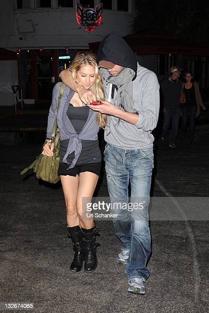 Anna Kournikova and Enrique Iglesias are sighted on November 12 2011 in Miami Beach Florida