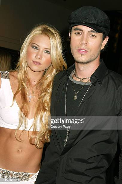 Anna Kournikova and Enrique Iglesias during Once Upon a Time in Mexico New York Premiere at Loews Lincoln Square Theatre in New York City New York...