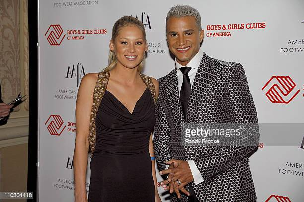 Anna Kournikova and Jay Manuel during 29th Annual American Image Awards 2007 May 14 2007 at Grand Hyatt in New York New York United States