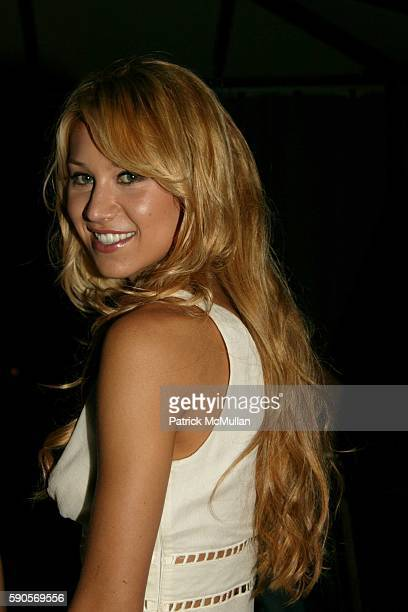 Anna Kournikova attends Teen People Celebrates their 2nd Annual Young Hollywood Issue Arrivals at Cabana Club on August 13 2005 in Hollywood CA