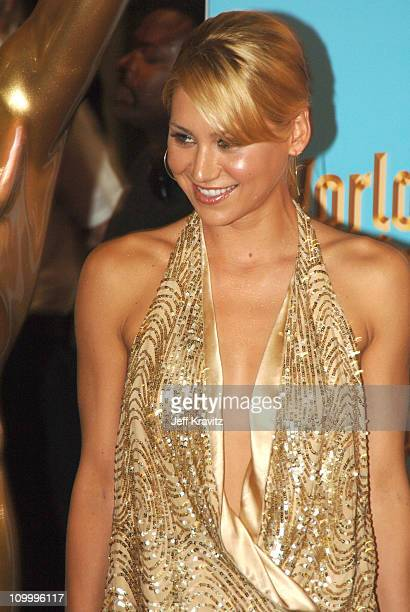 Anna Kournikova during 2005 World Music Awards Arrivals at Kodak Theater in Hollywood California United States