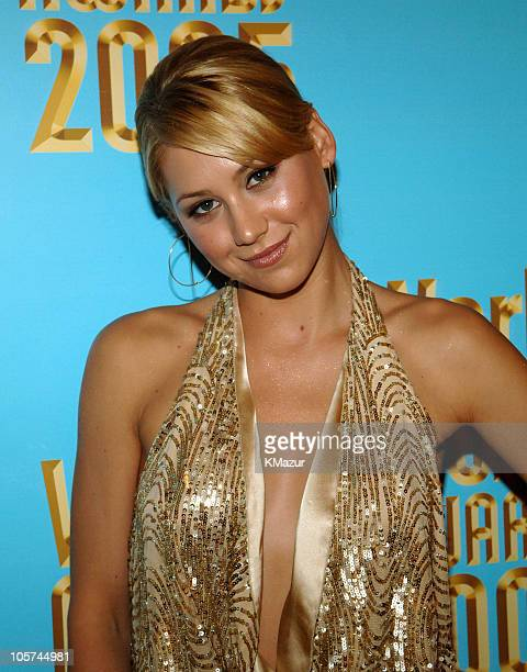 Anna Kournikova during 2005 World Music Awards Red Carpet at Kodak Theatre in Los Angeles CA United States