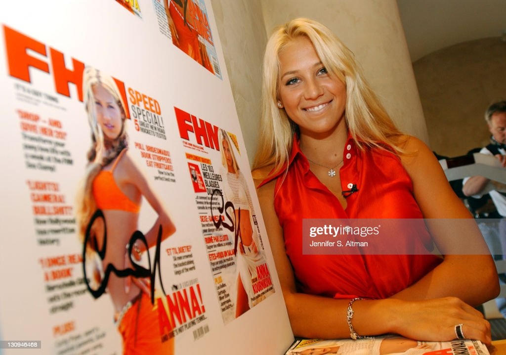 Anna Kournikova at FHM Event at Virgin Mega Store