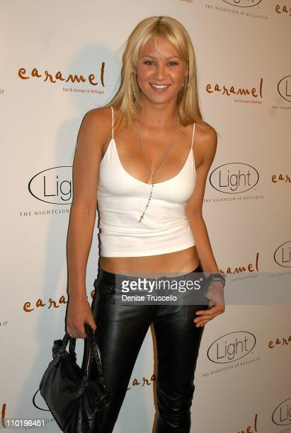 Anna Kournikova during Anniversary Party for 'Light' and 'Caramel' at The Bellagio in Las Vegas at Caramel in Las Vegas Nevada United States