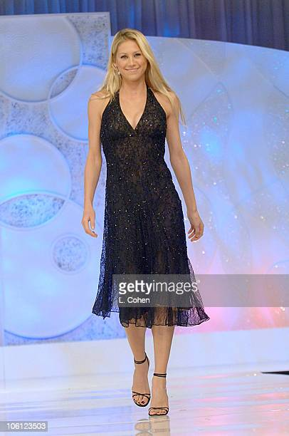 Anna Kournikova during Runway For Life Benefiting St Jude Children's Research Hospital Sponsored by Disney's The Little Mermaid DVD and The Conair...