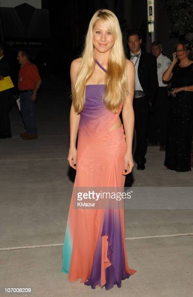 Anna Kournikova during The Andre Agassi Charitable Foundation's 11th Annual 'Grand Slam for Children' Fundraiser Red Carpet at MGM Grand Garden Arena...