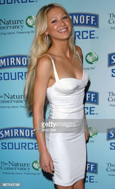 Anna Kournikova hosts the Smirnoff Conservation Starts at the Source Benefit benefiting The Nature Conservancy held at ULTRA New York City BRIAN ZAK