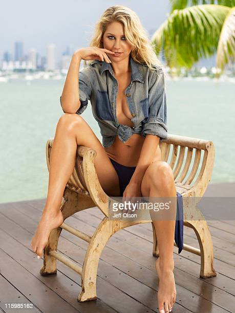 Anna Kournikova photographed for Maxim Magazine on September 1 2010 in Los Angeles California
