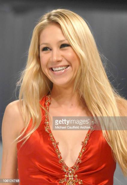 Anna Kournikova wearing Robert Ellis during Runway For Life Benefiting St Jude Children's Research Hospital Sponsored by Disney's The Little Mermaid...