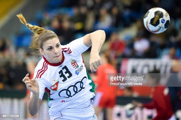 Anna Kovacs of Hungary during warmup before IHF Women's Handball World Championship group B match between Poland and Hungary on December 07 2017 in...