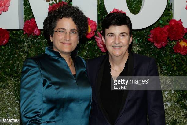 Anna Kramarsky and Jeanne Bergman attend The Museum of Modern Art's Party in the Garden at MOMA on June 5 2017 in New York City