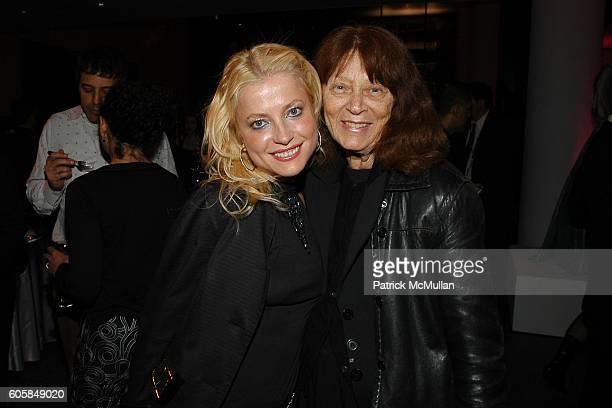 Anna Kulinova and Tina Scirone attend THE WALL STREET JOURNAL WEEKEND EDITION Afterparty for The MARIE ANTOINETTE New York Film Festival Screening at...