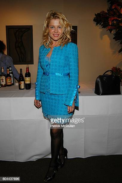Anna Kulinova attends Literacy Partners 'An Evening of Readings' Gala Kickoff Reception at Michael's Restuarant on March 15 2006