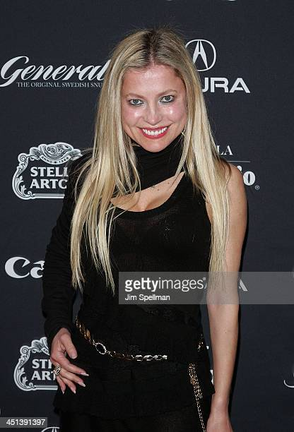Anna Kulinova attends the 15th annual Gen Art Film Festival screening of Mercy at the School of Visual Arts Theater on April 13 2010 in New York City