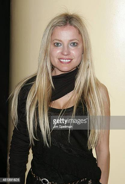 Anna Kulinova attends the after party for the 15th annual Gen Art Film Festival screening of Mercy at BLVD on April 13 2010 in New York City