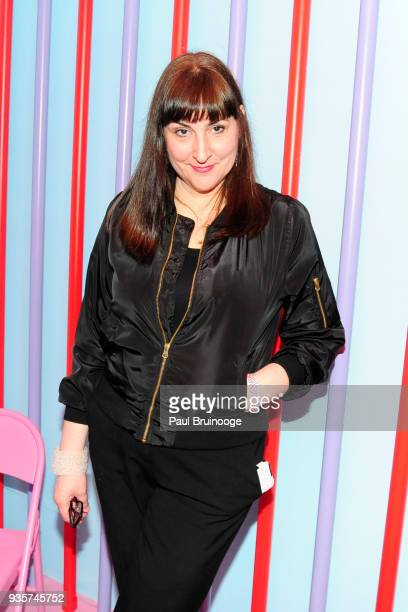 Anna Kustera attends the SPRING/BREAK Collectors Press Preview at 4 Times Square on March 6 2018 in New York City