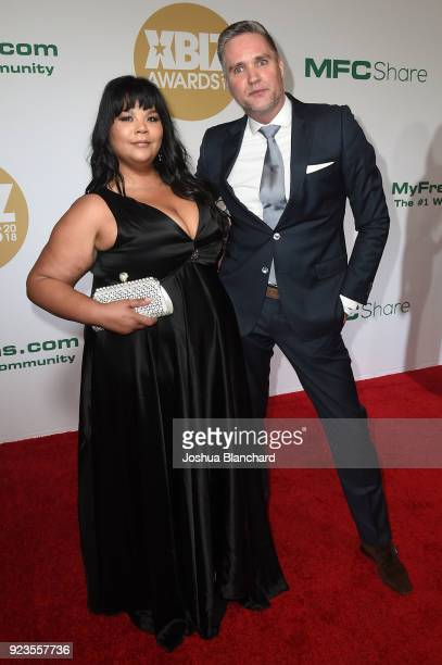 Anna Lee and Frank Kok attend the 2018 XBIZ Awards on January 18 2018 in Los Angeles California