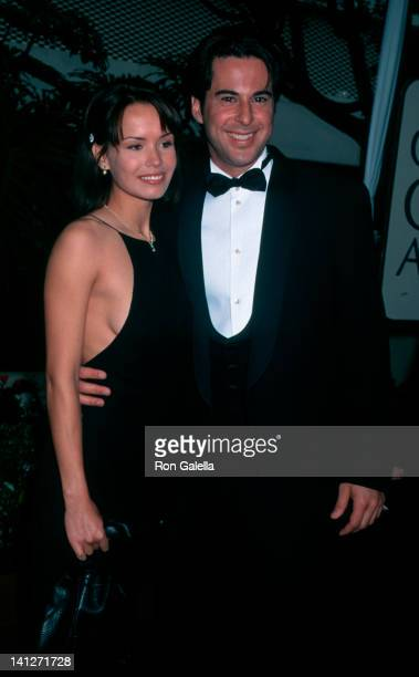 Anna Lee and Jonathan Silverman at the 53rd Annual Golden Globe Awards Beverly Hilton Hotel Beverly Hills