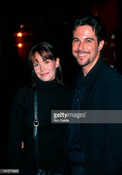 Anna Lee and Jonthan Silverman at the Premiere of 'The Pallbearer' Directors Guild Theater Los Angeles