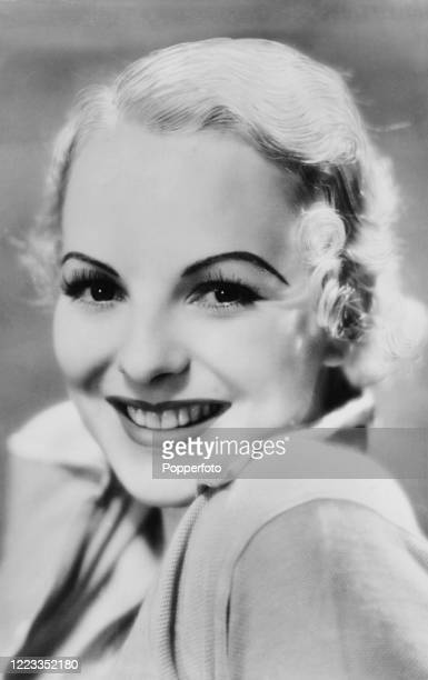 """Anna Lee, British-born American actress, called """"The British Bombshell"""" during a long career which encompassed stage and screen and several..."""