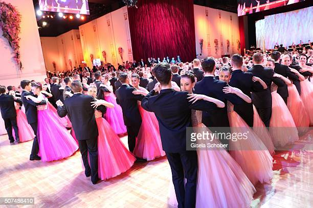 Anna Lena Kaiser daughter of Roland Kaiser during the Semper Opera Ball 2016 at Semperoper on January 29 2016 in Dresden Germany