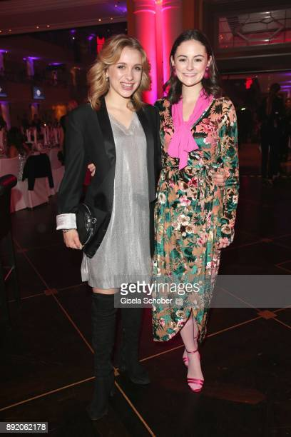 Anna Lena Klenke and Lea van Acken during the Audi Generation Award 2017 at Hotel Bayerischer Hof on December 13 2017 in Munich Germany