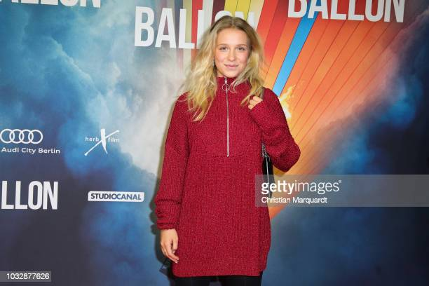 Anna Lena Klenke attends the 'Ballon' premiere at Zoo Palast on September 13 2018 in Berlin Germany