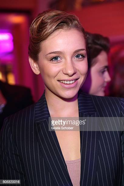 Anna Lena Klenke during the German Film Ball 2016 arrival at Hotel Bayerischer Hof on January 16 2016 in Munich Germany