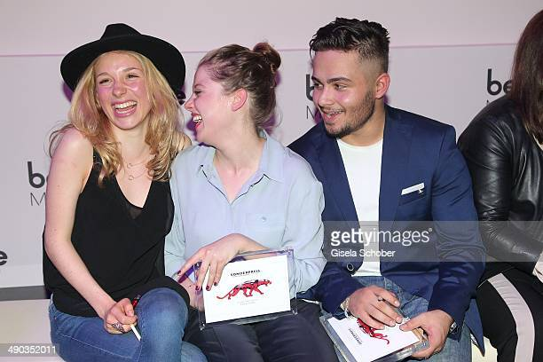 Anna Lena Klenke, Jella Haase and Aram Arami attend the New Faces Award - Film - 2014 at e-Werk on May 8, 2014 in Berlin, Germany.