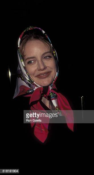 Anna Levine attends the performance of Cabaret on January 4 1996 at Carlyle Cafe in New York City