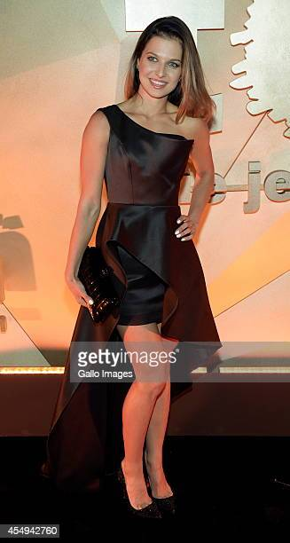 Anna Lewandowska attends TVN's Summer Night Ball on September 6 2013 at the Royal Caste in Warsaw Poland Organised by the TVN Foundation You are not...