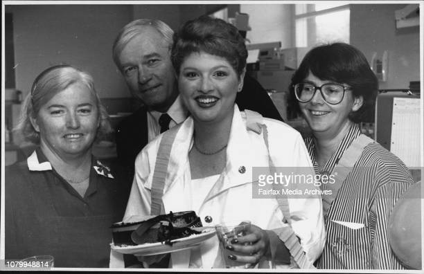 Anna Lisse Piper with King George V Hospital NursesLR Pam Valentine Prof David HendersonSmart Kim Smith at AnnaLisse 15th birthday party at the...