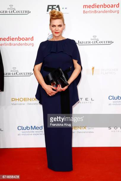 Anna Loos during the Lola - German Film Award red carpet arrivals at Messe Berlin on April 28, 2017 in Berlin, Germany.