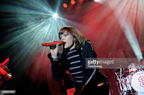 Anna Loos of Silly performs on stage at the EWerk on November 18 2010 in Cologne Germany