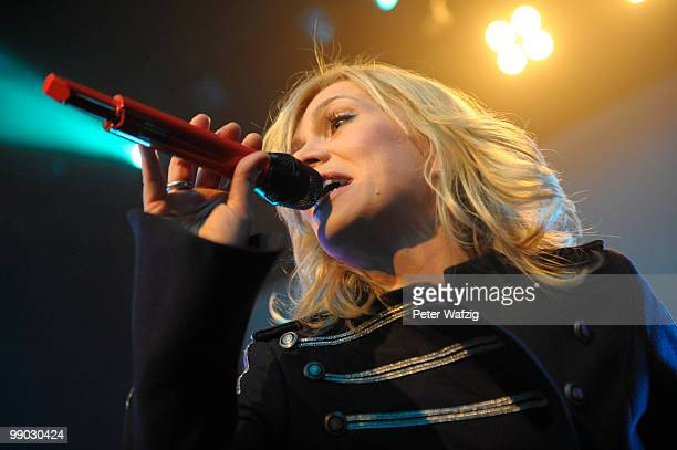 Anna Loos of Silly performs on stage at the Gloria on May 11 2010 in Cologne Germany