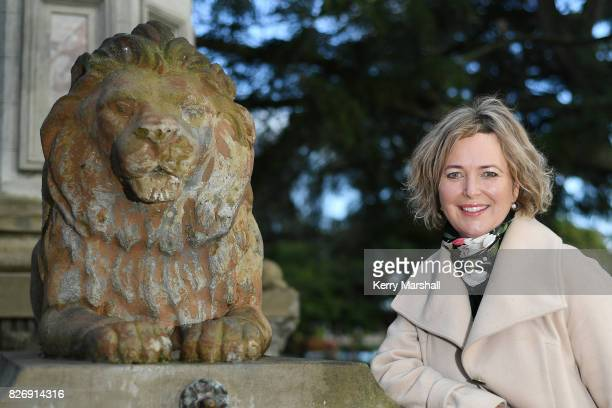 Anna Lorck the Labour candidate for Tukituki poses for photographs while campaigning on August 5 2017 in Hastings New Zealand The New Zealand general...