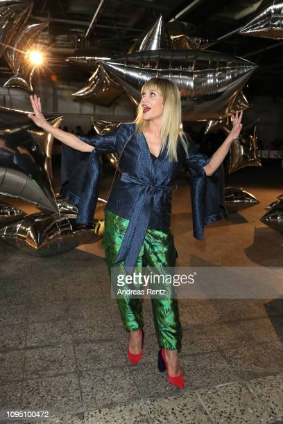 Anna Los attends the Dawid Tomaszewski Defile during the Berlin Fashion Week Autumn/Winter 2019 on January 16 2019 in Berlin Germany