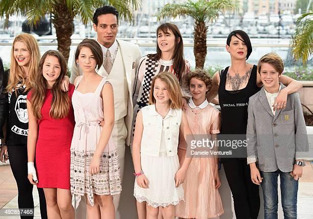Anna Lou Castoldi Carolina Poccioni guest Gabriel Garko Charlotte Gainsbourg Alice Pea Giulia Salerno Director Asia Argento and Andrea Pittorino...