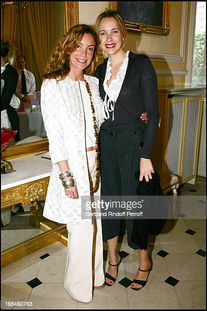 Anna Lucia Adam and Melonie Hennessy at The Reception At The Austrian Embassy For Lady Antonia Fraser For The Publication Of Her Book...