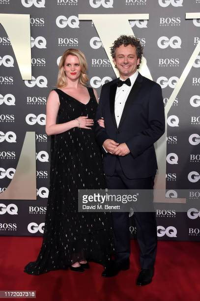 Anna Lundberg and Michael Sheen attend GQ Men Of The Year Awards 2019 in association with HUGO BOSS at Tate Modern on September 03 2019 in London...