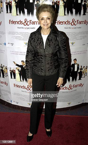 Anna Maria Alberghetti during Friends and Family Los Angeles Premiere at Laemmles Monica 4Plex in Santa Monica California United States