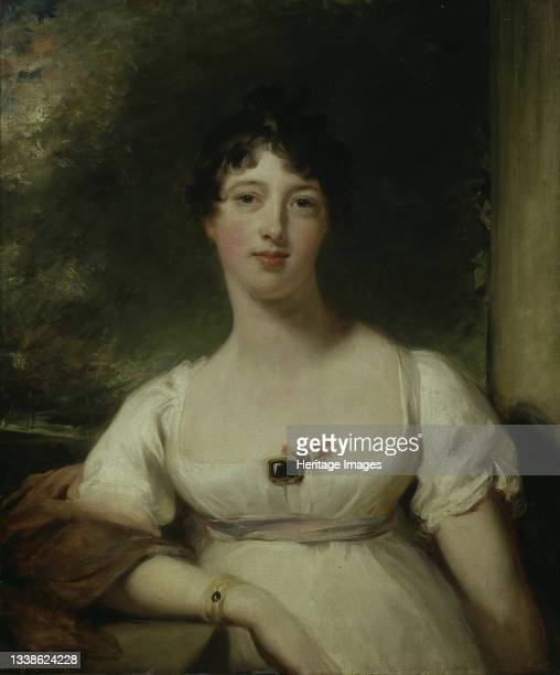 Anna Maria Dashwood, later Marchioness of Ely, circa 1805. Artist Thomas Lawrence.