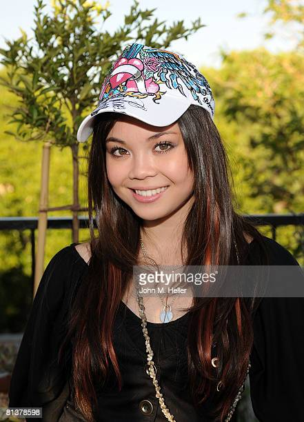 Anna Maria De Tagle attends the Secret Room Celebrity Gifting Suite Day 1 for the 17th Annual MTV Movie Awards on May 31 2008 at the Valadon Hotel in...