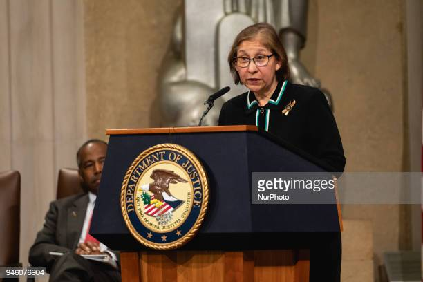 Anna Maria Farias Asst Sec of HUD for Fair Housing and Equal Opportunity introduces Dr Benjamin S Carson Sr Secretary of Housing amp Urban...
