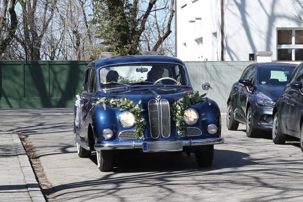 DEU: Wedding Of Anna Maria Kaufmann And Eckhard Alt In Munich