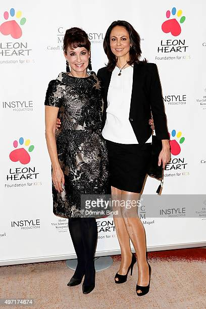 Anna Maria Kaufmann and Natalia Klitschko attend the charity dinner for Phytokids at Hotel Vier Jahreszeiten on November 14 2015 in Munich Germany